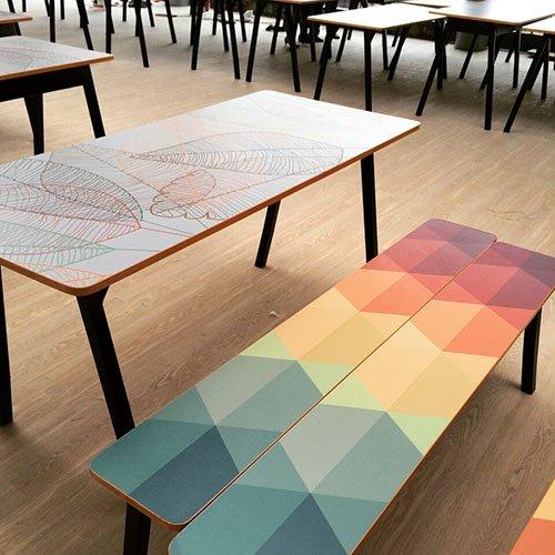 Mesas para colegio