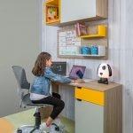 cuarto de estudios para ninos y adolescentes